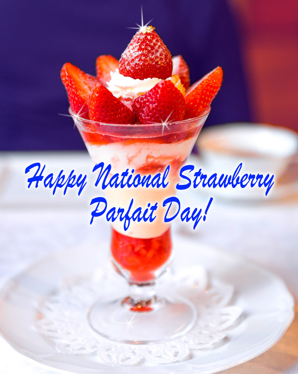 Strawberry Parfaits For Mama's Day Recipes — Dishmaps